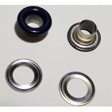 Блочка с кольцом 5 мм ( №3 ) эмаль антрацит