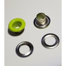 Блочка с кольцом 5 мм ( №3 ) эмаль салат №232