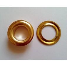Блочка с кольцом 17 мм ( №31 ) - золото