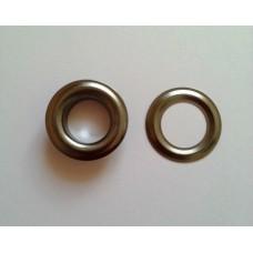 Блочка с кольцом 13 мм ( №28 ) - блэк никель