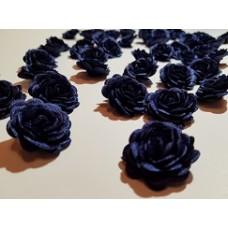 Розы т. синие