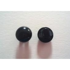 Пуговица пришивная грибок , размер 16 черная