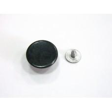 Джинсовая пуговица стальная гладкая 17 мм - оксид