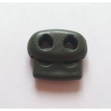 Cтопор овальный 21 мм № 327 - хаки
