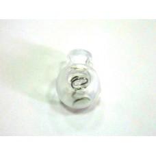 Cтопор шарик 16 мм - прозрачный